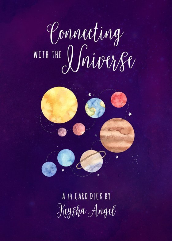 Connecting with the Universe Cards (Cover)